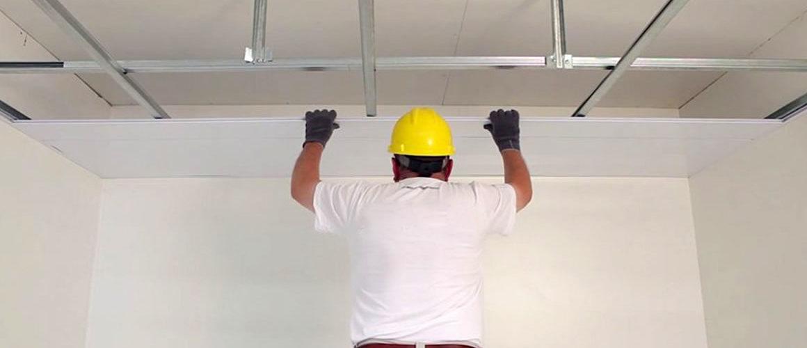 Instalación Cielo Raso PVC en Paneles